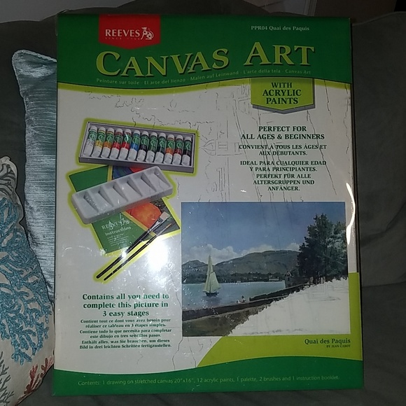 Canvas Art Never Used